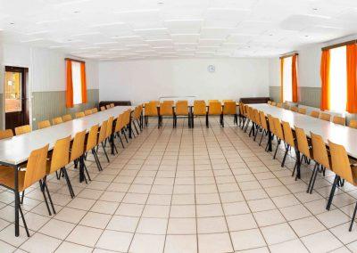 Speise- und Tagungsraum